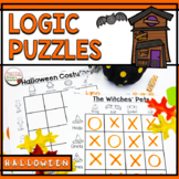 Logic Puzzles for Halloween - Primary Students