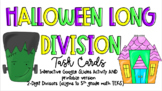 Halloween Long Division - Google Slides Activity