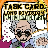 Halloween Long Division Task Cards