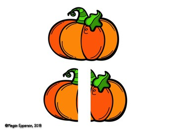 Halloween Long & Short Manipulatives