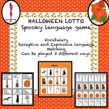 Halloween Activities, Lotto: Vocabulary, Riddles, Matching