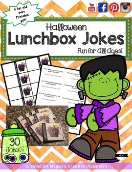 Halloween Lunchbox Jokes (the perfect Halloween Gift!)