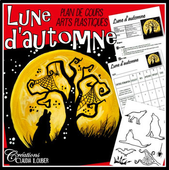 Halloween: Lune d'automne, arts plastique