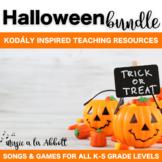 Halloween Music: Halloween MEGA Music Set of Songs and Games