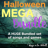 Halloween Music: Halloween MEGA Music Set of Songs and Games