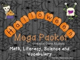 Halloween MEGA pack with Literacy, Math, Science and Vocab