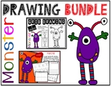 Halloween MONSTER Drawing Bundle