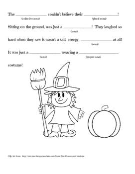 Halloween Mad Lib---NOUNS