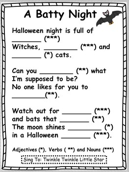 Halloween Mad Libs Are Easy and Fun