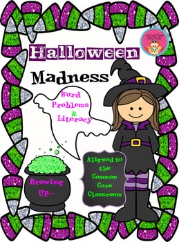 Halloween Madness: For the Common Core Classroom
