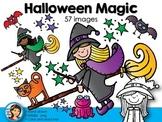 Halloween Magic Clip Art