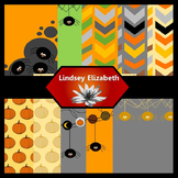 Halloween Magic {Digital Paper Background Set}