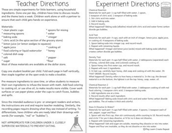 Magic Potions, Fun Science Experiments with Student Booklet