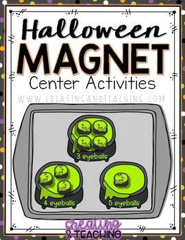Halloween Magnet Center Activities