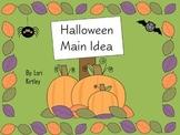 Halloween Main Idea Activities