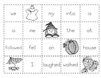 Halloween Making Sentences