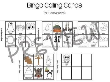 Halloween Bingo Cards- NO PREP