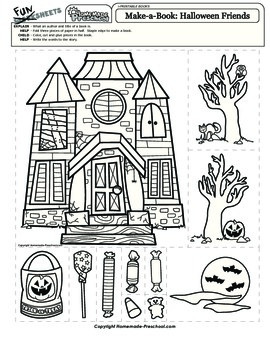 Halloween: Make-a-Book Pictures