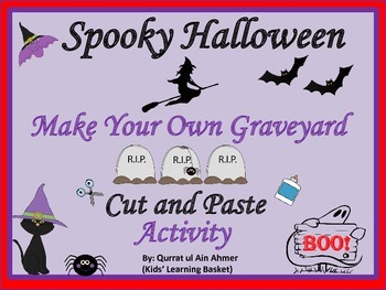 Halloween:Make your own Graveyard Cut and Paste Activity