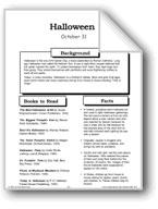 Halloween: Making Books