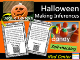 Halloween Inference Task Cards with QR Codes {3rd, 4th, 5th} Self-checking!
