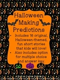 Halloween Making Predictions No Prep No Print!