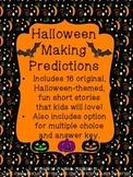 Halloween Making Predictions No Prep No Print!