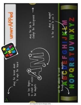 Halloween Making Words iPad Activity for Wordstudy