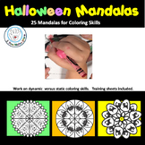 Halloween Mandalas for Coloring