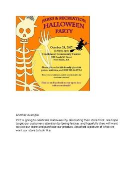 Halloween Marketing Assignment