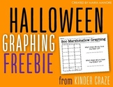Halloween Marshmallow Graphing Freebie