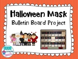 Halloween Mask Bulletin Board Project