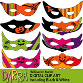 Halloween Masks Clip Art