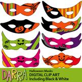 Halloween Masks Clip Art