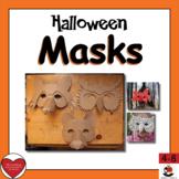 Halloween Masks Informational Text & Art Activity