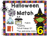 Halloween Match ~ Cardinality, What Makes Ten? and Ten and