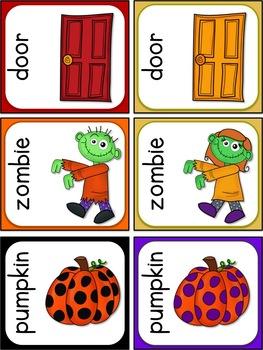 Halloween Match Cards FREEBIE