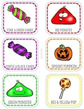 Halloween Memory, Match, Fall Activities, Games, Party, Spiders, Candy, Fun