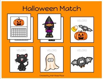 Halloween Match Sheets