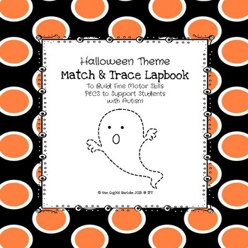 Occupational Therapy: Halloween Match & Trace Lapbook