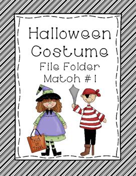 Halloween Matching Activity Bundle