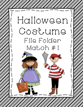 Halloween Matching Activity Bundle