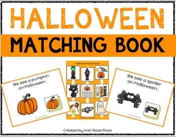 Halloween Matching Book (Adapted Book)