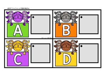 Halloween Matching Cards for Letters and Sounds by Education and Inspiration