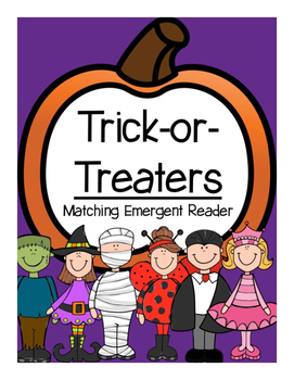 Halloween Emergent Reader (Matching)