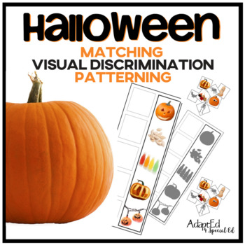 Halloween Matching Memory and Patterning