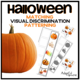 Halloween Matching Memory and Patterning