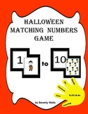 Halloween Matching Numbers Game