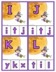 Halloween:  Matching Uppercase & Lowercase Letters