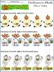 Halloween Math Activities: Halloween Math Drills Activity Bundle - Color & B/W